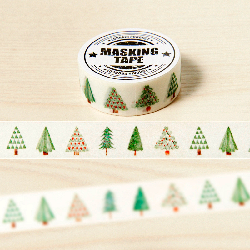 1.5cm*7m the Tree of Hope washi tape DIY decoration scrapbooking planner masking tape adhesive tape kawaii stationery gayle m the hope family calendar