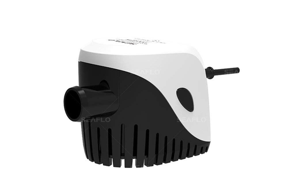 Pompe de cale automatique Submersible oceanlo 1100GPH avec interrupteur à flotteur (1100GPH, 12 V)