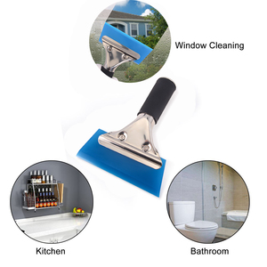 Image 2 - EHDIS Car Tools Window Squeegee Water Wiper Handled Rubber Ice Scraper Blade Car Auto Snow Shovel Glass Car Cleaner Tinting Tool