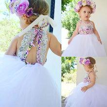 Sequins Toddler Baby Kids Girls Dress Cute Baby