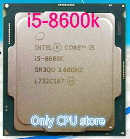 US $299 0 |Free shipping INTEL i5 8600k i5 8600k CPU Processor 3 6G CPU 95W  LGA 1151 3 6 GHz scrattered pieces-in CPUs from Computer & Office on