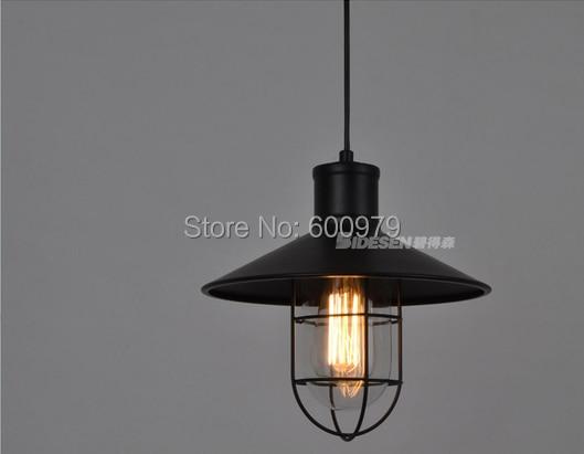 Фото Modern  loft lamp  country  metal pendant light  aslo for wholesale  ( dia 270mm*H 280mm)