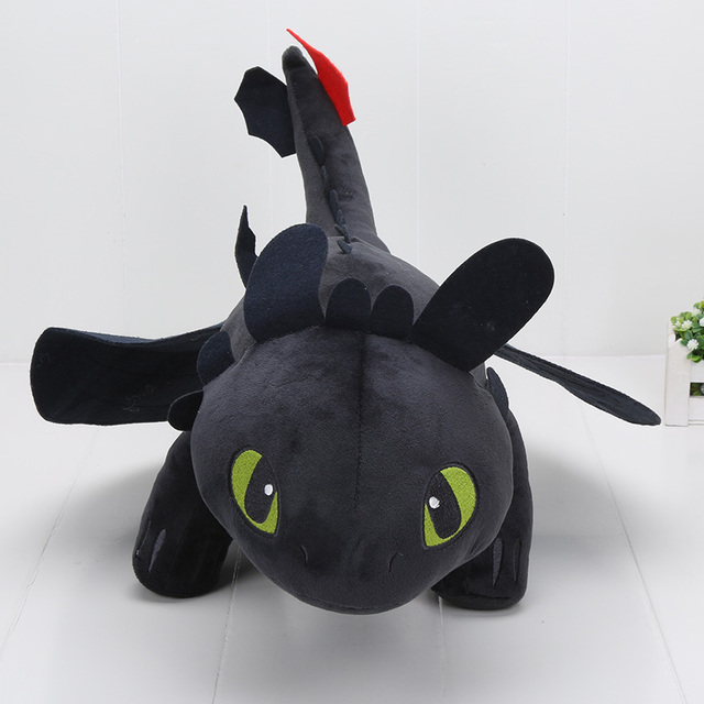 How to Train Your Dragon – Toothless Night Fury Plush Doll