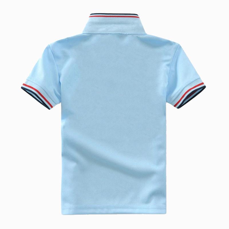 8852db9cc3 Alta Qualidade camisa polo meninos de manga curta crianças t camisas de uniforme  escolar camisa roupas de bebê menino roupas de algodão meninos casuais em  ...