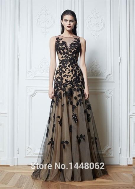 Zuhair Murad Black Evening Dresses