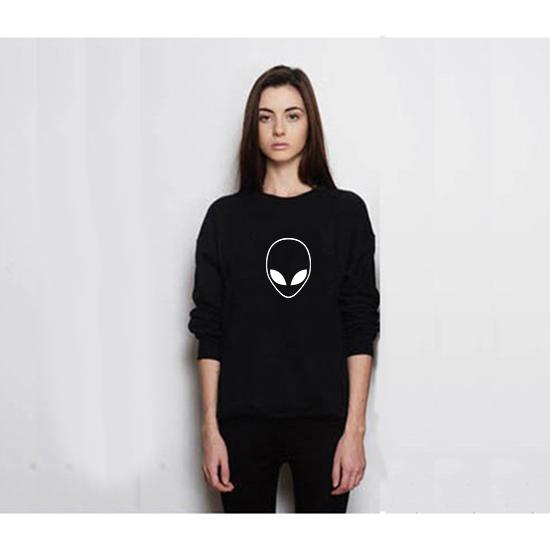 Sweatshirt Model alien 4