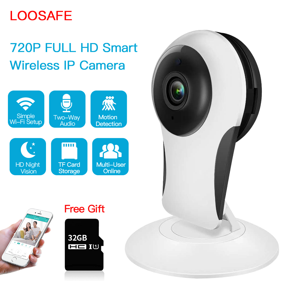 Loosafe IP Kamera WIFI Ev Güvenlik Kablosuz Gözetim Kamera Video - Güvenlik ve Koruma - Fotoğraf 1