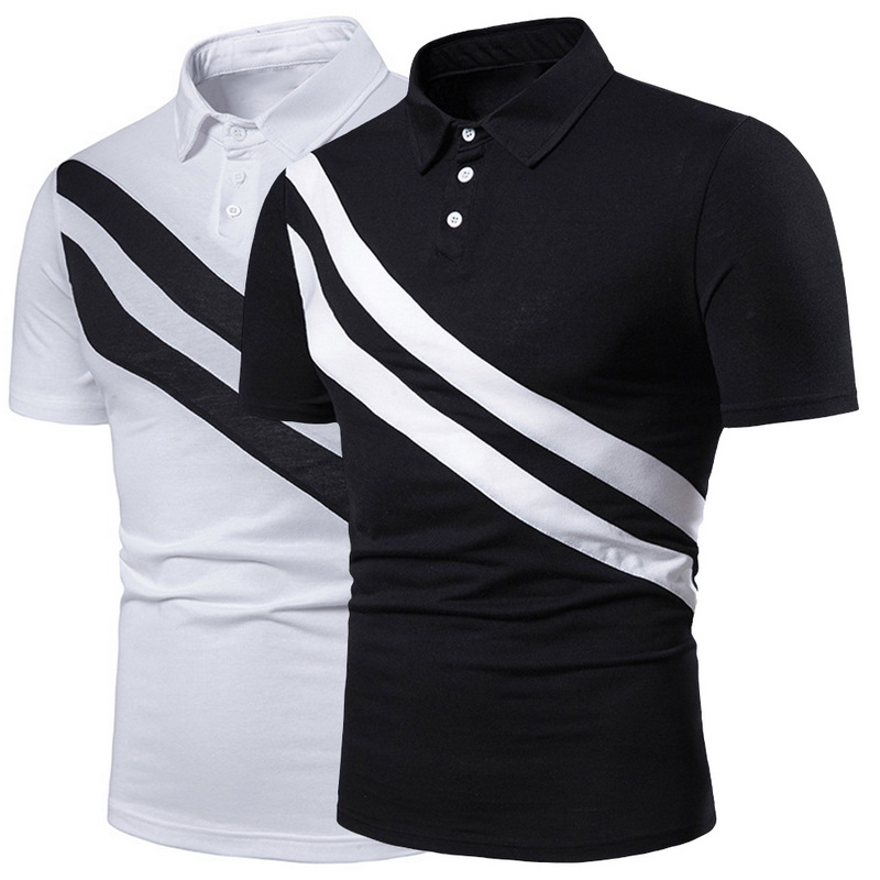 Oeak Design Summer Stripe   Polo   Shirt 2019 Men Short Sleeve   Polo   Shirts Slim Fit Mens Casual Tops Gentlemen Brand   Polo   Shirts