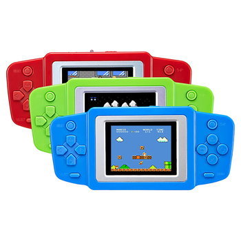 2.5'' Portable Video Game Player 268 8 bit Classic Games Gamepad Console Battery