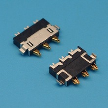 10pcs/lot Phone battery connector Battery contacts for Lenovo A670T S890 S920 A800 A606 A660