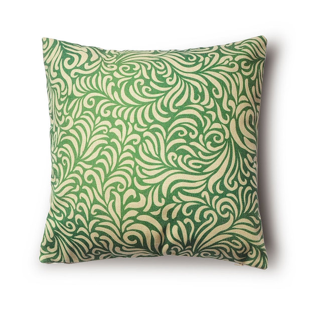 Aliexpresscom Buy Retro Style Decorative Pillows Plant - Retro style sofa