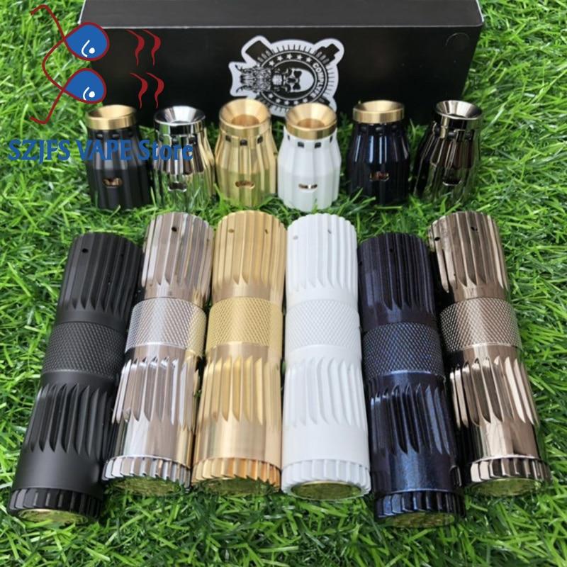 AV MOD KIT Cl Japan Model Mechanical Kit Brass 25mm Vapor Mod With Atomizer By 18650 Battery E Cig Vaporizer AV MOD Smoke Vaper