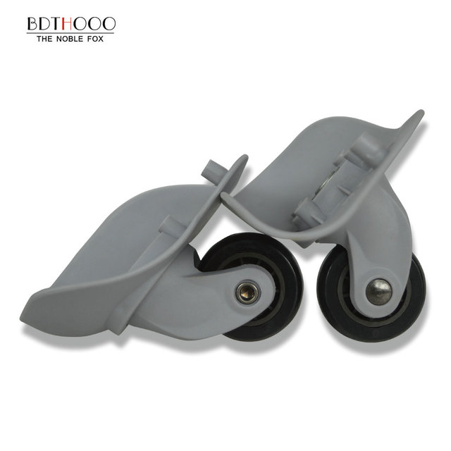 החלפת גלגלים עבור נסיעות מזוודות מזוודות תיקון יד ספינר גלגלית גלגלי חלקי עגלת החלפת גומי A06 WXL