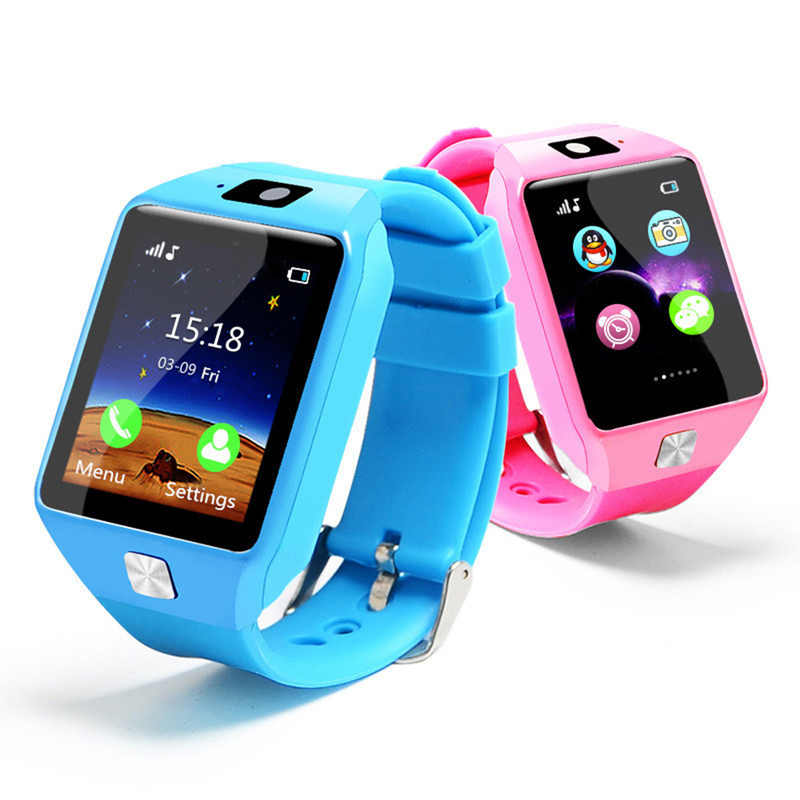 New 1.54 Inch Touch Screen Smart Watch Children Wrist Smartwatch Bluetooth Watch For IOS Android Phone With SIM Card Passometer