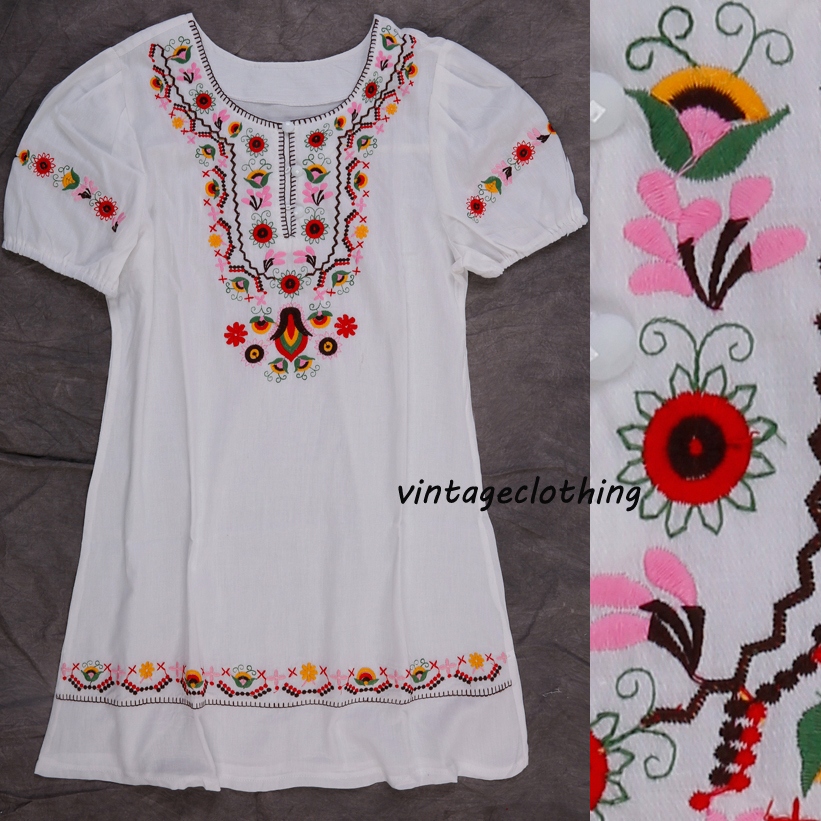 Compra hippie peasant dress online al por mayor de china ...