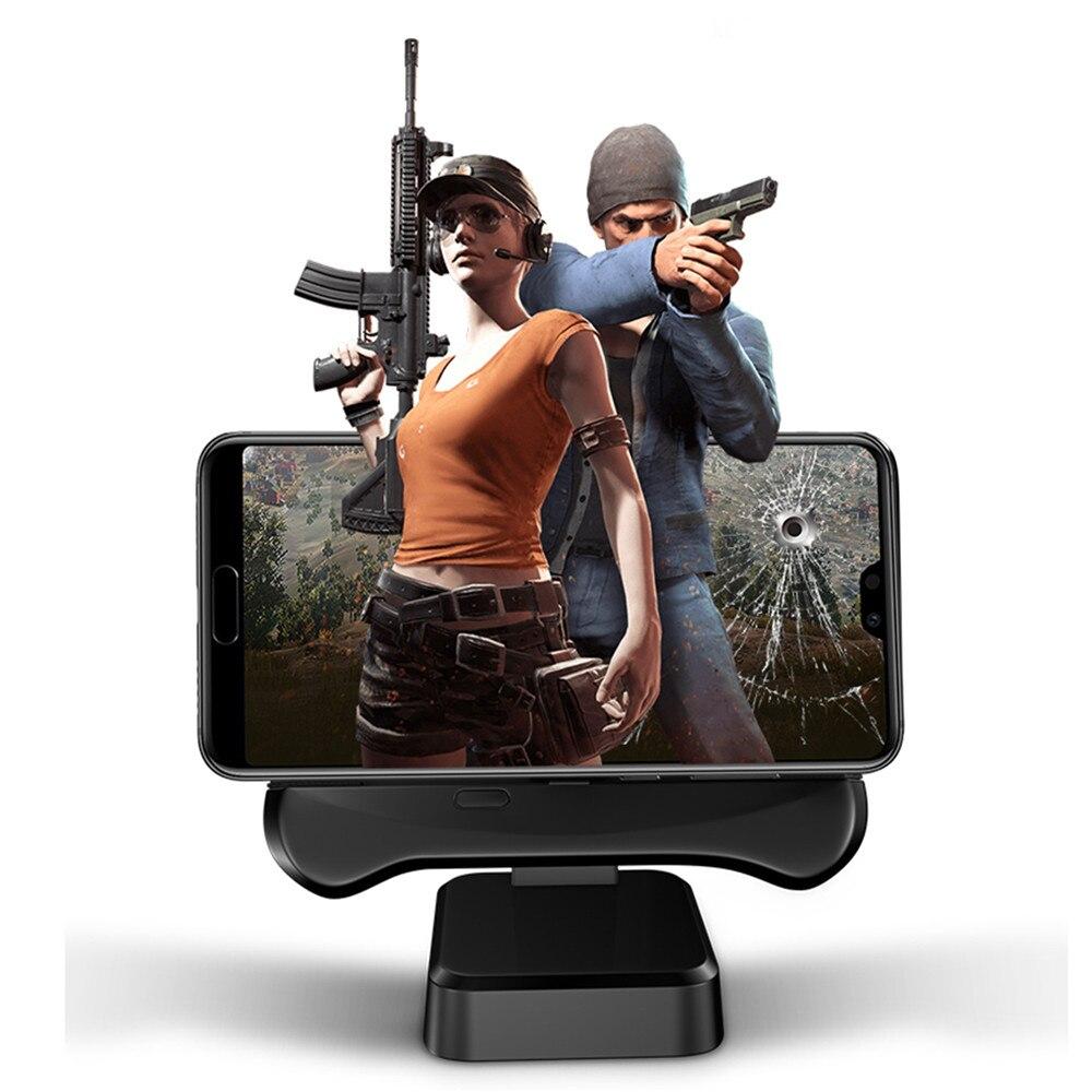 Support pour téléphone Gamepad radiateur pour Android PUBG ventilateurs tablettes et téléphone PUBG batterie externe clavier souris convertir accessoires
