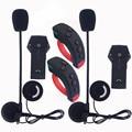 2 Unids/lote Nueva 1000 m BT Interphone Bluetooth Casco de La Motocicleta Auricular del Intercomunicador Full-duplex NFC Auriculares con Mando a distancia FM