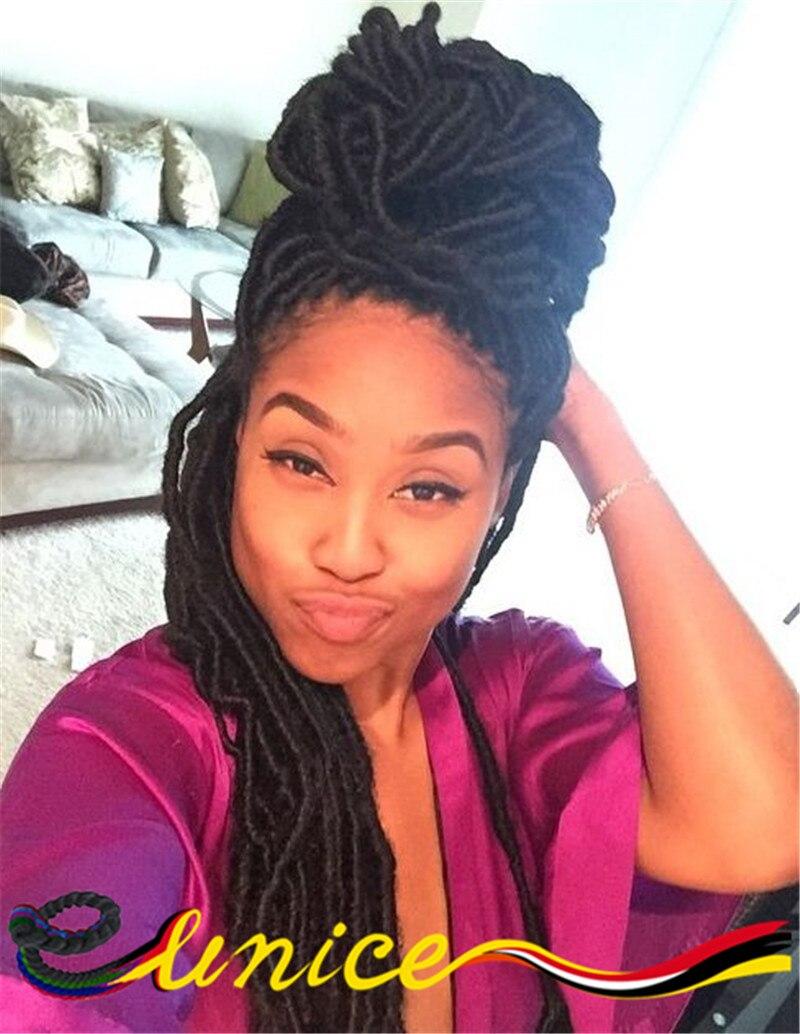 Aliexpress : Buy Wholesale Curly Crochet Hair Synthetic Dread Locs Faux  Locs Crochet Braid Hair Extensions Soft Faux Locs Crochet Box Braids From