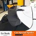 Спойлер для Mazda 3 Axela  задний спойлер из углеродного волокна для багажника и багажника  украшение крыла багажника  Стайлинг автомобиля  2014-2017