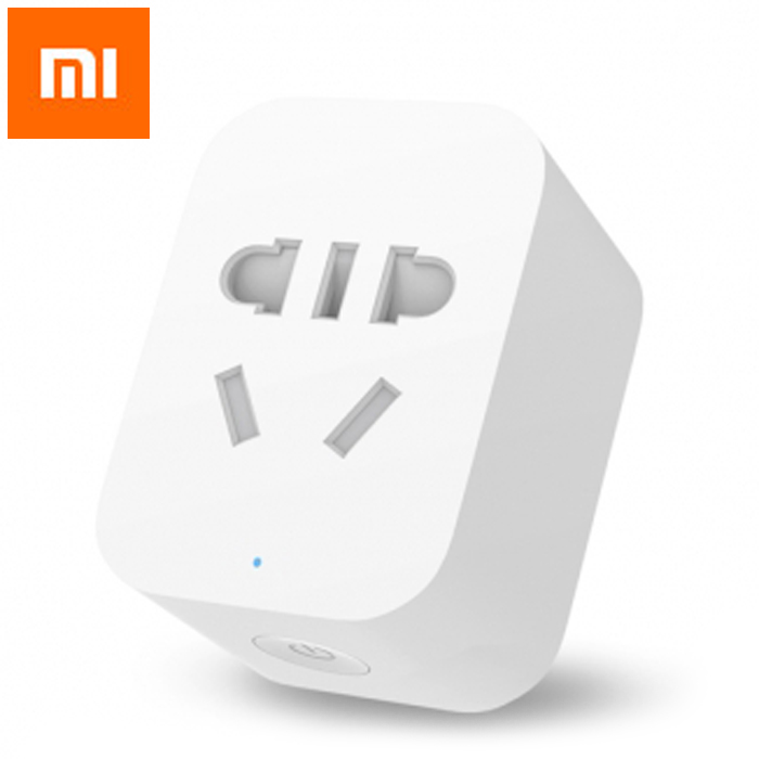 цена на Original Xiaomi Mi Smart WiFi Socket APP Remote Control Timer Power Plug Power Detection - ZigBee Version