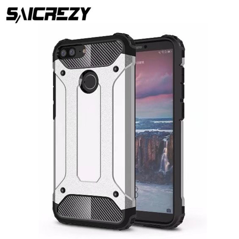 For Funda Huawei Honor 9 Lite Case Armor Hard Mobile Phone Cases Honor9 Lite Case Cover Shockproof Hybrid Protective Back Shell