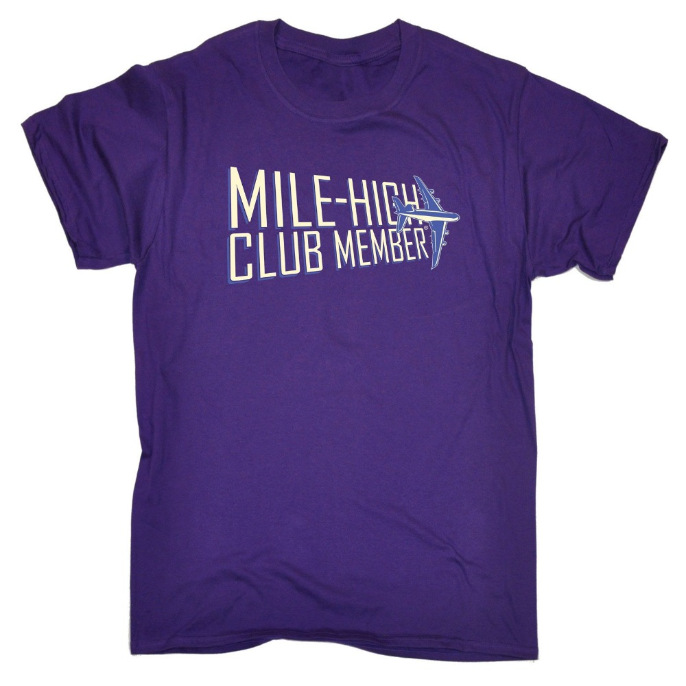 Youth Collar Customized T Shirts Mile High Club