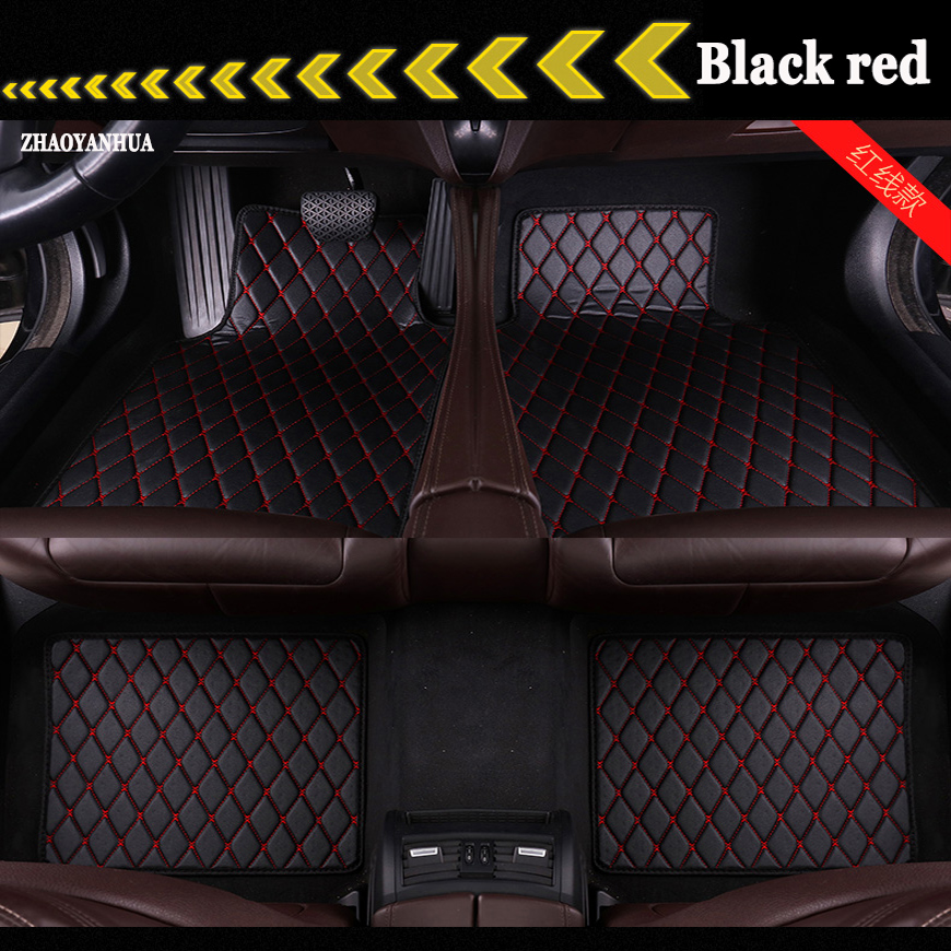 ZHAOYANHUA Custom fit Universelle auto-fußmatten für Alle Modelle BMW 3 serie E90 E91 E92 E93 318d 320d 320i 325i 328 teppich liner