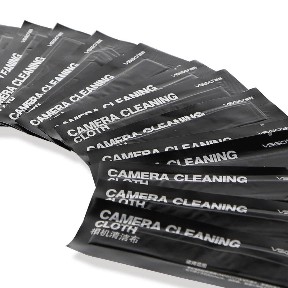 Paño de limpieza de lentes de microfibra óptica VSGO Magicfiber - Cámara y foto - foto 4