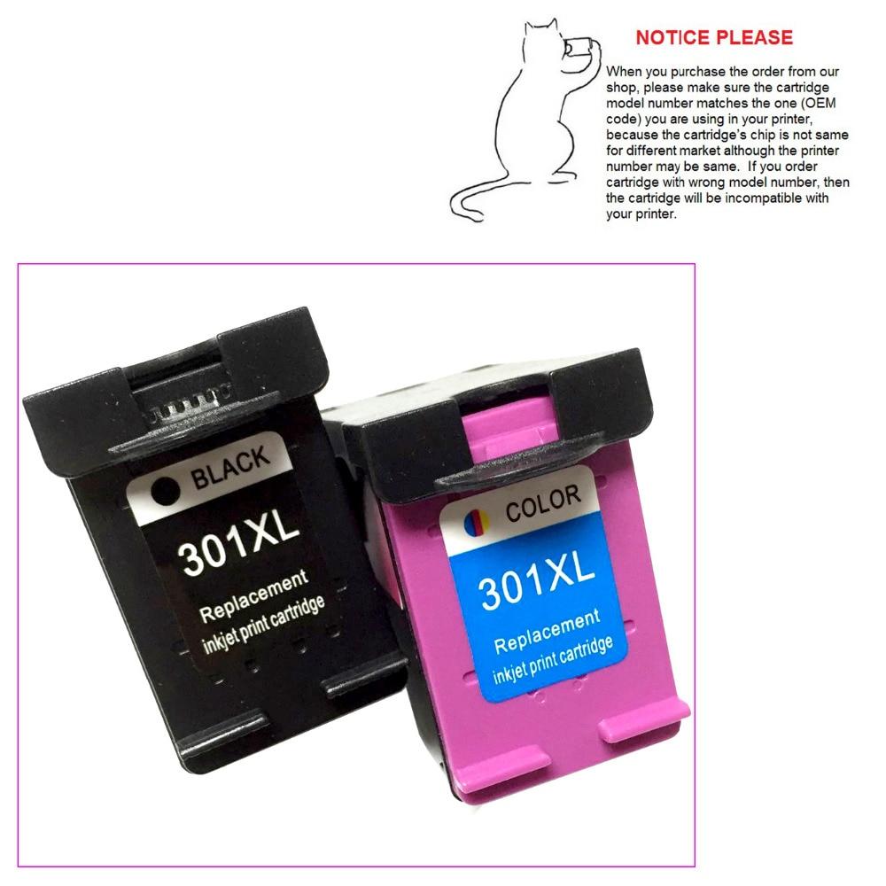 1set Ink Cartridge For Hp301 Hp301xl Hp 301 For Hp Deskjet