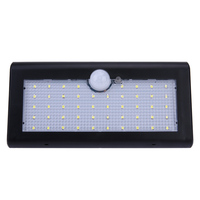 48 LED Waterproof IP65 PIR Motion Sensor Solar Power Wall Light Outdoor Security Lamp White For Street Yard Path Home Garden
