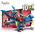 Joyyifor 10in1 Dragon Knight Building Blocks NinjagoINGly Brick Action Figures Enlighten Toys for Kids Compatible LegoINGlys