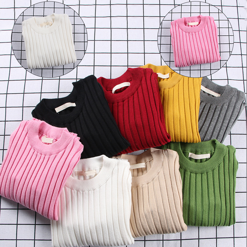 Girls Sweater Pink Tiny Cotton Winter Autumn Fashion Boys Shirt Knitted Sweaters Children Sweaters Pullover Ribbed Cardigan Tops все цены