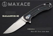 High End Maxace баланс м G10 ручка-лайнер M390 лезвие кВт Флиппер походный складной нож Бесплатная доставка