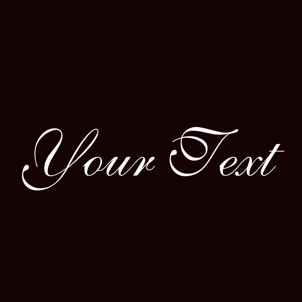 saffrontoo your text vinyl decal sticker car window bumper custom 7 personalized lettering