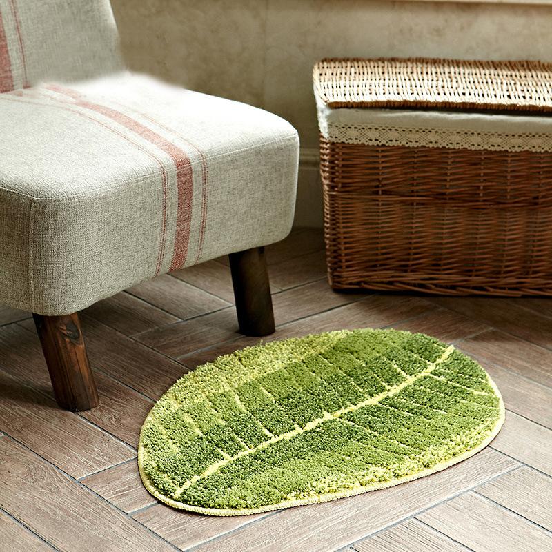 Blatt Kche Bodenmatte Anti Slip Wohnzimmer Teppich Waschbar Schlafzimmer Nacht Bereich Tapete Eingang Fussmatte