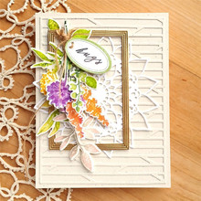 Eastshape Flower Mental Cutting Dies And Stamps Painting For Card Making Decorative Photo Frame New 2019 Sets