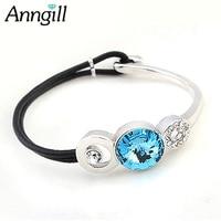 New Brand Chain Link Bracelet Pulseras Wristband For Women Femme With Swarovski Elements Crystal Cristal Bijoux