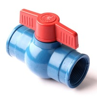 N80 G 2 Female Thread Ball Valve Straight Connector Thicken Durable Quality Material Garden Drip Irrigation