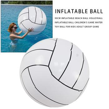 80CM Inflatable Beach Ball Volleyball Inflatable Ball Children's Game Water Toy Ball For Kids Adult Group Game Toys For Children 6