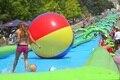 Tobogán Tubo Extrema gran tobogán tobogán inflable al aire libre recreación pagando 80 M largo jugando en verano en el parque