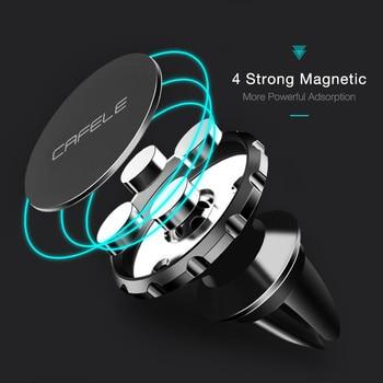 Cafele Car Phone Holder Magnetic Air Vent Magnet Mobile Phone Car Holder For Cell Phone Car Mount Holder Universal 1