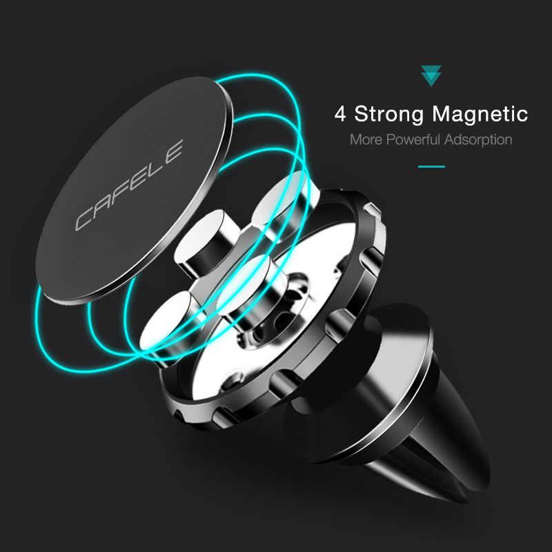 Cafele Pemegang Ponsel Magnetic Ventilasi Udara Magnet Mobile Ponsel Dudukan Mobil untuk Mobil Ponsel Holder Universal
