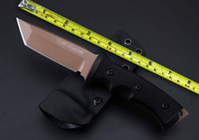 Quality Treeman Miniature Ultra Phalanx Straight Knife VG10 Blade Tactical Knife G10 Handle Survival Camping Collection Knives