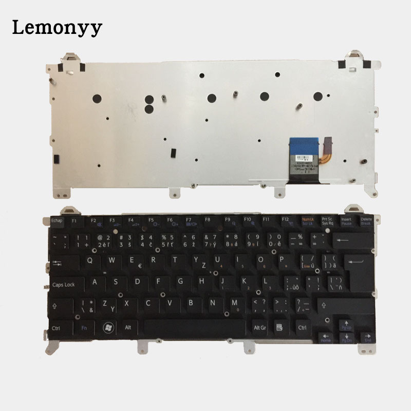 Czech/Italian/Latin laptop keyboard for SONY VAIO vpc z1 vpcz1 PCG-31113T 31112T 31111T keyboard laptop keyboard for for sony vpc ea black without frame latin la v081678d 148792351