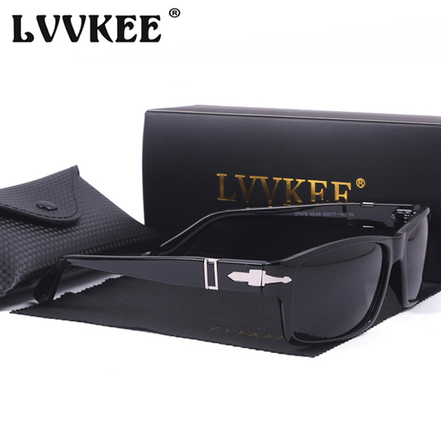 1e52b9b6dd5 LVVKEE Vintage Men Polarized Driving Sunglasses Mission Impossible4 Tom  Cruise James Bond Style Sun Glasses for