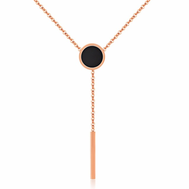 Jewelry choker necklace rose gold for women stainless steel black jewelry choker necklace rose gold for women stainless steel black rose gold drop shipping bar necklace aloadofball
