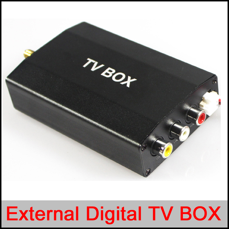 External Digital TV/DTV box for car DVD gps player,ATSC/DVB-T/ISDB external TV box for car DVD GPS PLAYER Wince and Android OS dvb t isdb digital tv box for our car dvd player