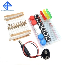 Smart Electronics Starter Kit For arduino uno r3 mini Breadboard LED jumper wire