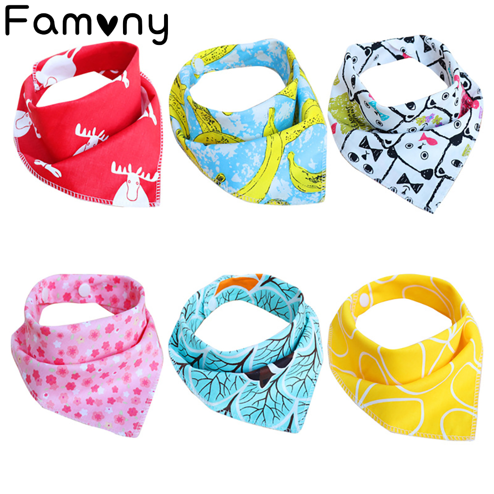 Adaptable Muti-style Baby Bibs Set Reusable Pure Cotton Baby Hat And Bavoir Washable Adjustable Bandana Infant Accessories Stuff