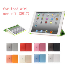 Case For ipad air1 new 9.7 PU Ultra Slim Magnet Sleep wake up Smart Cover Shell iPad for A1822`A1823`A1893`A1954